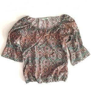 Maurices Bohemian Top
